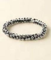 Vintage Twist Bracelet Silver