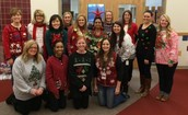 """We had some """"fun"""" sweaters on Thursday!"""