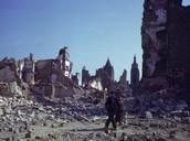 The damage World War ll did.