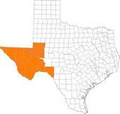 Region of Texas did the Tiguas live in?