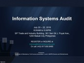 Information Systems Audit (Code: ISA)