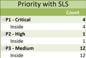 Cases by Priority