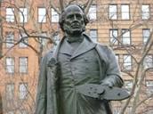 A statue of John Ericcson