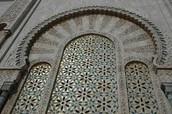 the door of the mosque