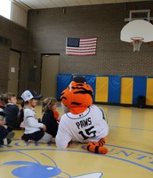 "Detroit Tigers ""Paws"" Visit"