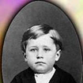 This is orville wright as a kid