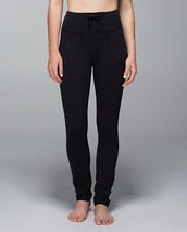 Lulu lemon Pants Skinny will Full on Luon (black)
