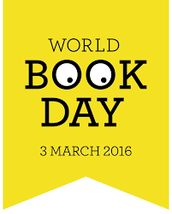 Save the Date - World Book Day 2016! Thursday 3rd March
