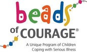 Beads for courage bags