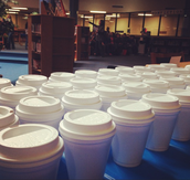 Hot Cocoa in the Library!