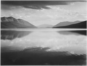 Evening, McDonald Lake, Glacier National Park (1942)