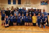 8th Grade vs. Teacher/Staff Volleyball game!