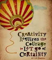 What does creativity require?