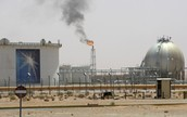 An oil reserve in Saudi Arbia