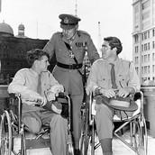 Two war veterans