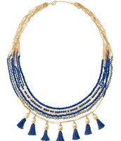 SOLD-Tulum Tassel Necklace