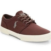 Polo Ralph Luaren Faxon Low Lace-up Sneakers