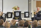 Brass Band lesson for the boys