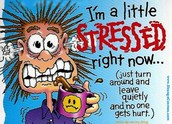Stress can be harmful