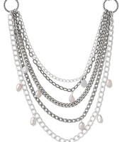 Avery Chain & Pearl Necklace $34.50