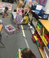 This is how we play cubes in kindergarten!
