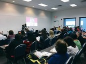 Over 70 librarians attended our training