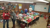 556 Toys For Tots presents wrapped for our Panthers! Thanks to all of the amazing volunteers!