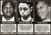 Central Park 5 as teenagers.