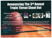 GCISD Special Olympics Shoot Out Fundraiser