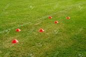 - 4-cone Agility drill -