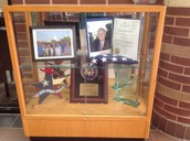 Door of the Trophy Case ; (Gliding Joint)