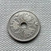 5 Taani krooni, tagakülg