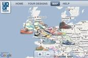 Reebok stores in Europe