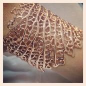 Rose Gold Coral Cuff - $85 (New)