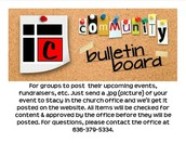 Community Bulletin Board