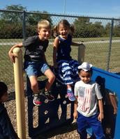 Fun at recess!