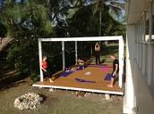 Practicing Nurturing Yoga and Detoxing