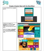 Create a Custom Quiz in Quiz Mixer