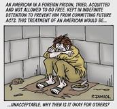 Guantanamo Bay cartoon.