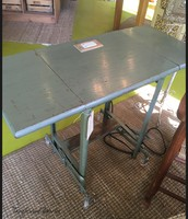 """Upcycled Table """"Charging Station"""" ~ $250"""