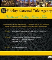 Feb. 10th - Fidelity's Northwest Valley Home Tour
