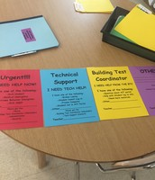 Laminated Communication Cards That Can Be Re-Used