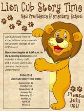 Lion Cub Storytime