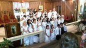 Congratulations First Communion Students!