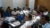 Training at Head Office