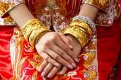 Wedding Golden Bangle