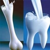Calcium is found in bones and teeth