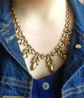 Back Side of Birdie Necklace