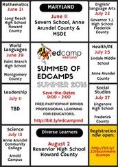 Edcamp Maryland - Registration Now Open!