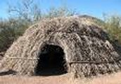 A Real Creek Indian Winter Home